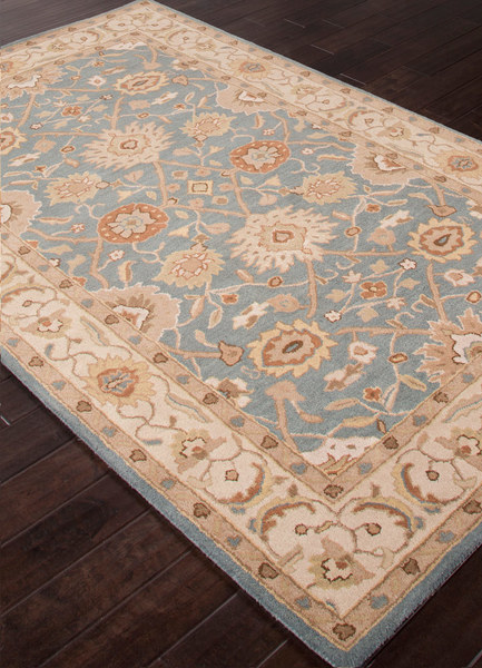 Classic Poeme Rug - Seaside Blue and Sand