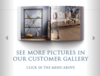 Visit our customer gallery and sort images by finish color!