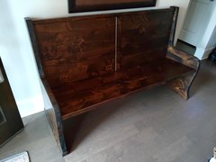 Fantastic Parish Pew Bench Andrewgaddart Wooden Chair Designs For Living Room Andrewgaddartcom