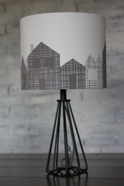 House Silhouette Accent Lamp.