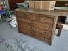 9 Drawer Dresser with a Dark Walnut Finish.