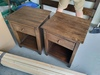 1 Drawer Nightstand in Dark Walnut Stain