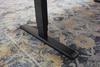 Base close up of Sit to Stand Power Adjustable Corner L-Shaped Desk