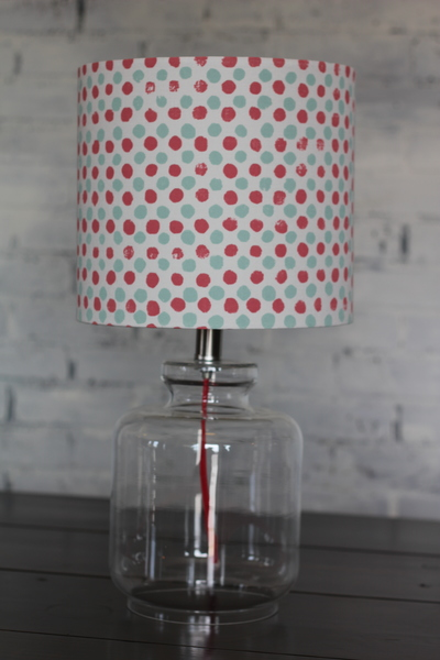 Polka-Dot Accent Lamp