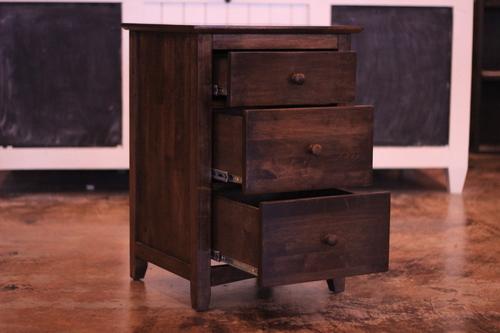 3 Drawer Nightstand James James Furniture Springdale