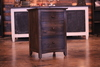3 Drawer Nightstand in Dark Walnut stain.