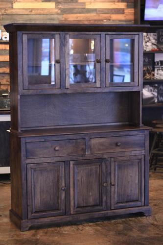 farmhouse buffet and hutch james james furniture springdale rh carpenterjames com buffet with hutch antique buffet with hutch white