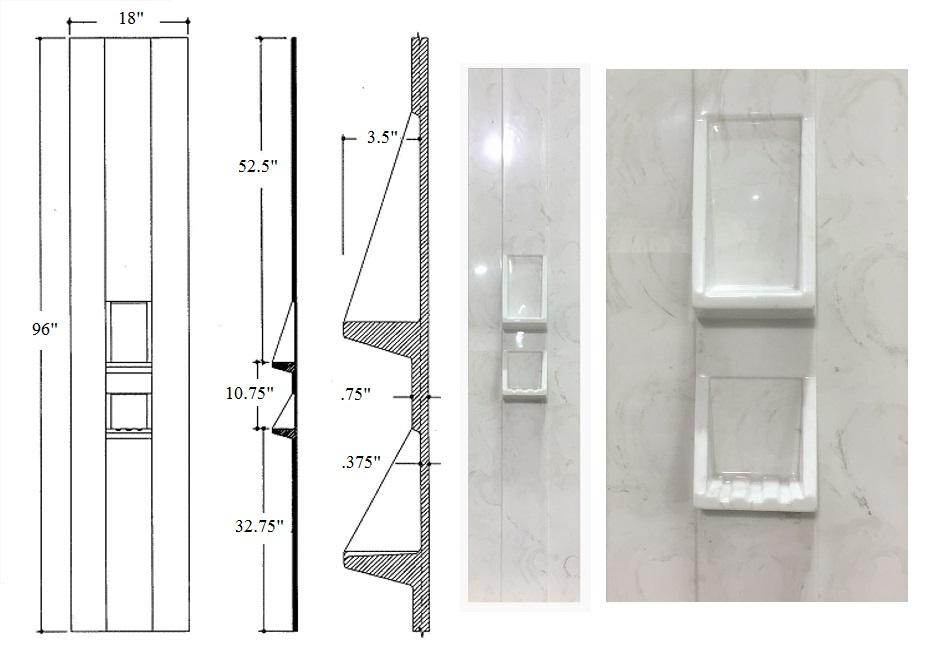 Overlap Soap & Shampoo Panel