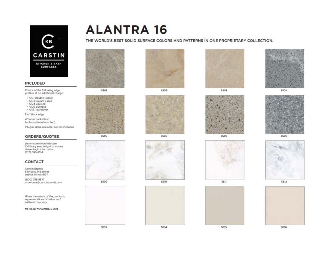 Alantra 16 marketing flyer