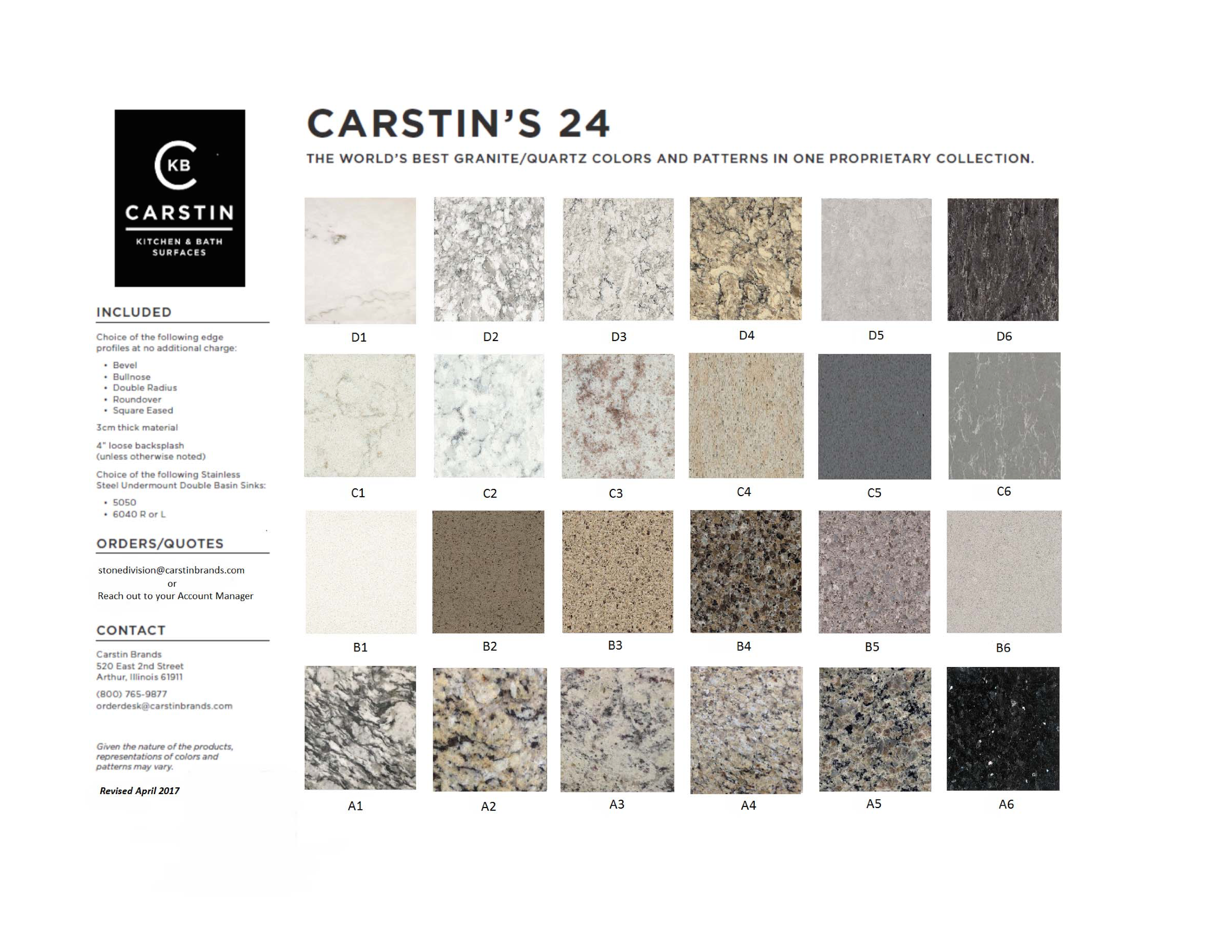 Carstin 24 marketing flyer