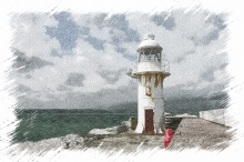 Brixham Lighthouse 1