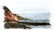 Sidmouth - Cliff