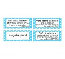 CASLLS Goals Cards: Complex Sentence