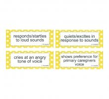 CASLLS Goals Cards: Pre-Verbal