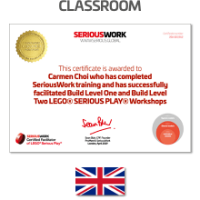 LEGO® Serious Play® Facilitator Training - Core Skills. Full Payment & Books Download