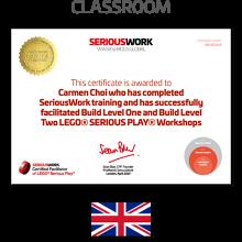 LEGO® Serious Play® Facilitator Training UK - Core Skills. Full Payment & Books Download