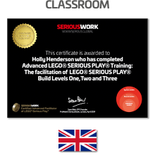 ADVANCED LEGO® Serious Play® Facilitator Training - Full Fee