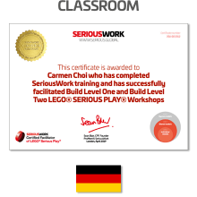 LEGO® Serious Play® Facilitator Training - Core Skills. Full Payment & Book Download