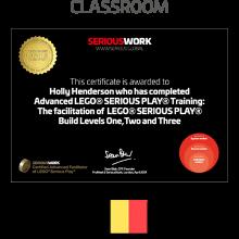 ADVANCED LEGO® Serious Play® Facilitator Training - Full Fee