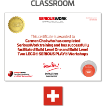 LEGO® Serious Play® Facilitator Training - Full Payment & Book Download