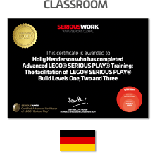 ADVANCED LEGO® Serious Play® Facilitator Training