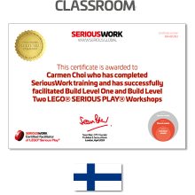 LEGO® Serious Play® Facilitator Training FI - Full Payment & Books Download