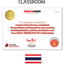 LEGO® Serious Play® Facilitator Training - Core Skills. Full Payment & Books Download - Thailand