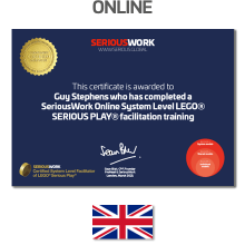 Online ADVANCED LEGO Serious Play Training. Only for CERTIFIED facilitators