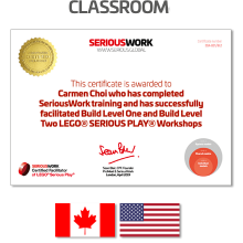 LEGO® Serious Play® Facilitator Training US - Core Skills. Full Payment & Books Download