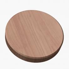 End Grain Cutting Board - Circle