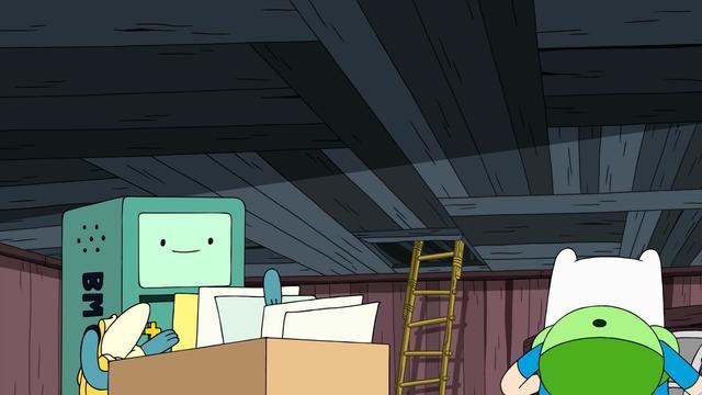 Finn's Cartoon Caption