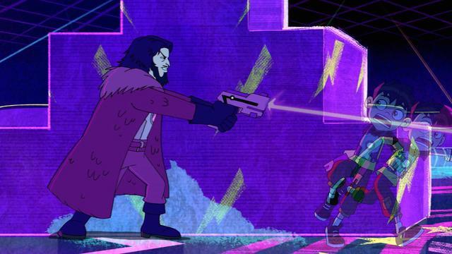 Super Laser Battle