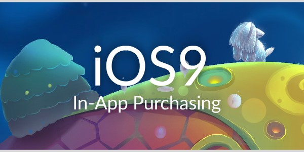 iOS9 in app purchasing video tutorials