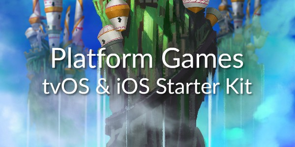 Available Now! Our Platform Games tvOS and iOS Starter Kit with 2-Player and External Game Controllers Support!