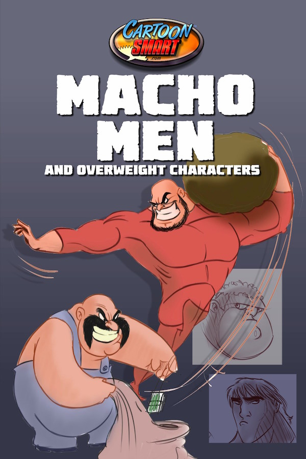 How to Draw Macho Men and Overweight Characters Tutorial