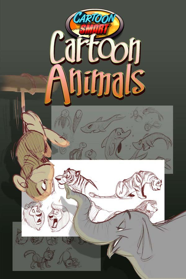 How to Draw Cartoon Animals Video Tutorials