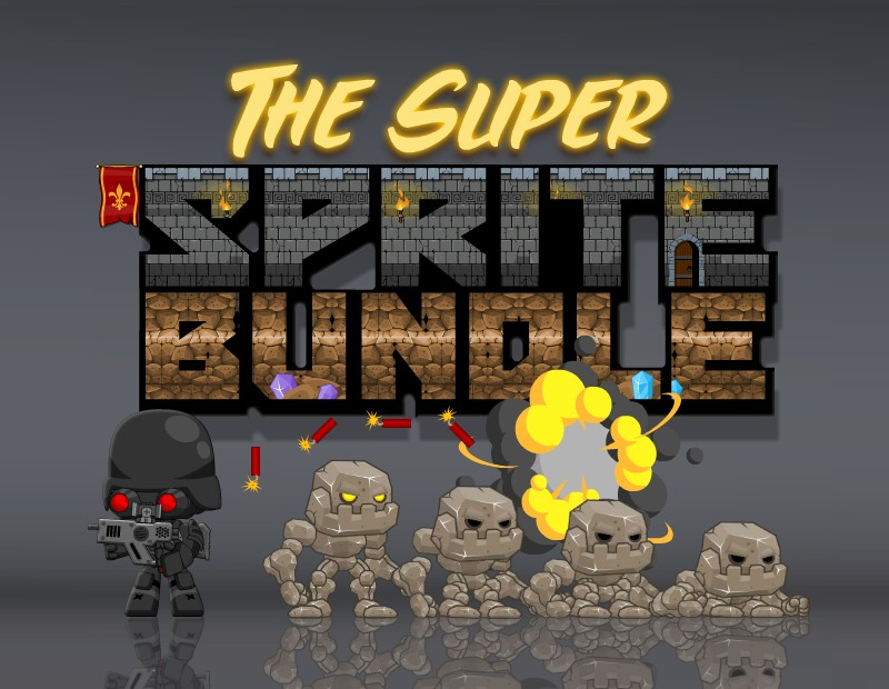 The Super Sprite Bundle of Royalty Free Game Art