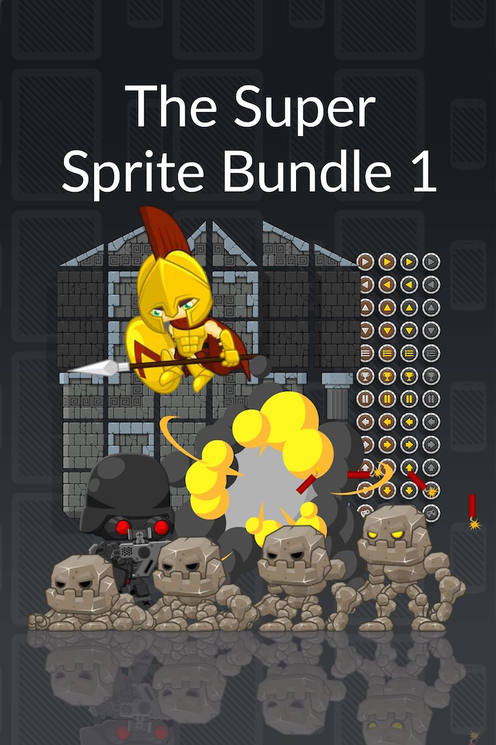 The Super Sprite Bundle 1 - Royalty Free Game Art and Sprites