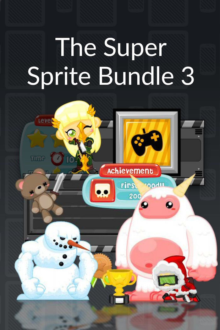 The Super Sprite Bundle 3 - Royalty Free Game Art and Sprites