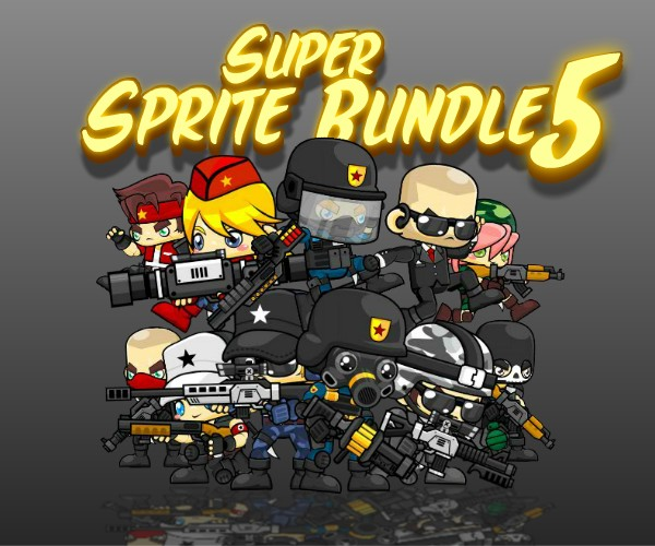 Super Sprite Bundle 5 - Royalty Free Game Art