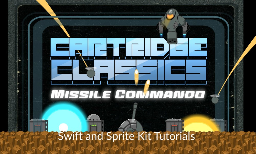 Missile Commander - Swift and Sprite Kit Video Tutorial