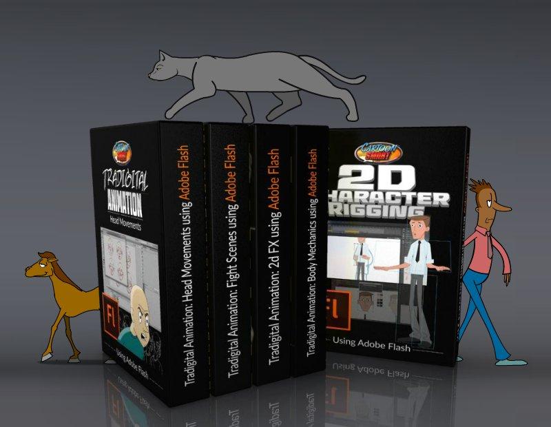 Flash Animation Tutorial Bundle
