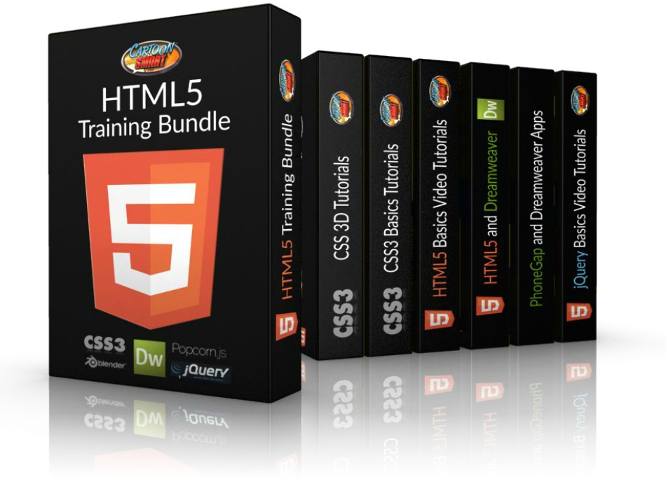 HTML5 Training Bundle of Video Tutorials