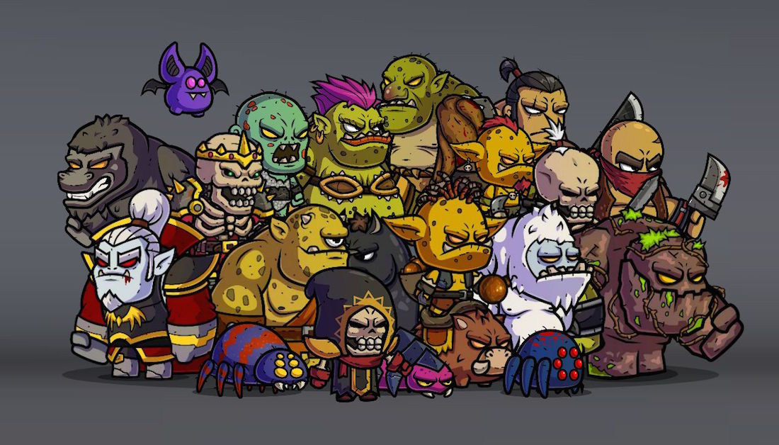 Monster RPG Royalty Free Game Art Collection