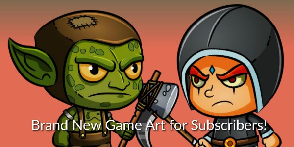 Two new Royalty Free Game Art Packages for CartoonSmart Subscribers!