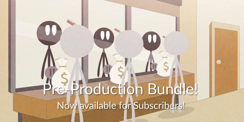 Storyboarding, Screenwriting and Animatics Video Tutorials now available for Subscribers