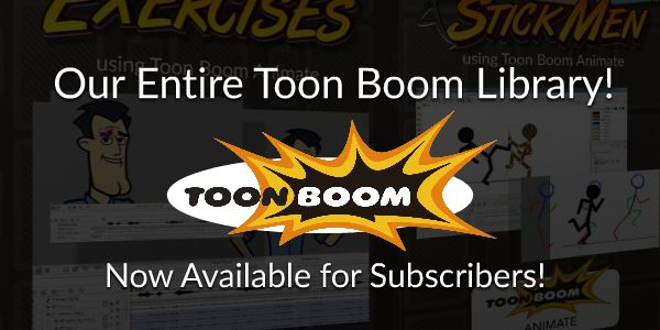 Toon Boom Animate Video Tutorials for Subscribers