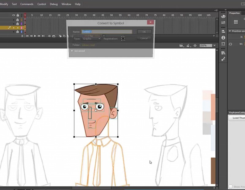 Adobe Flash 2D Rigging Video Tutorial