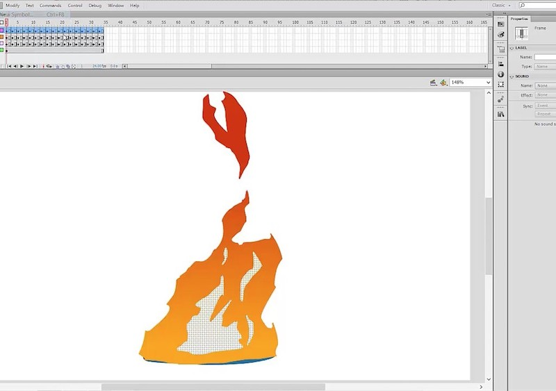 Adobe Flash animation tutorial on 2D special FX 3