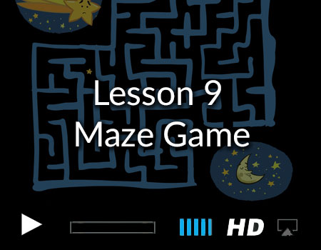 Tutorial 9 – Making a Maze Game